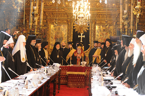 mass heretic meeting