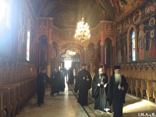 goc-k visit to romanian monastery