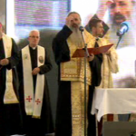 papist and bucharest clergy concelebrate