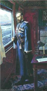 St Tsar Nicholas after Signing Abdication