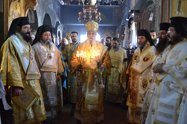 GOC-K Celebration of Synaxis of St. Michael and Bodiless Powers in Corinth