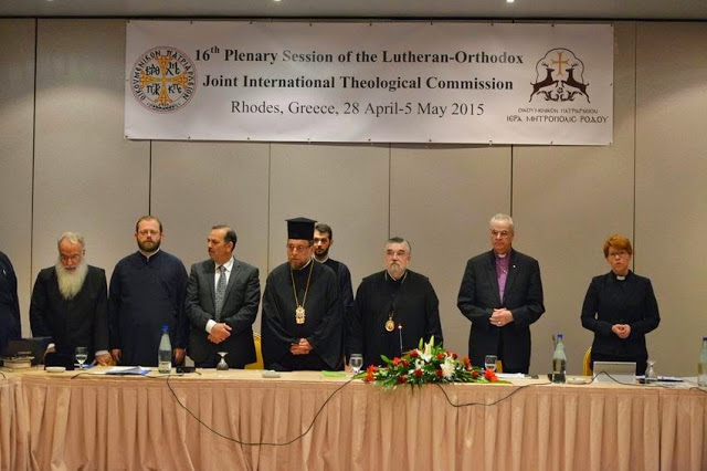 World Orthodox-Lutherans Joint Celebration for Reformation and Statement on Clergy