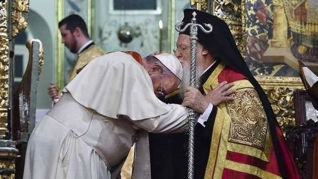 "Patriarch Bartholomew: ""We have already mentioned our commitment to theological and sacramental unity with the Roman Catholic Church."""