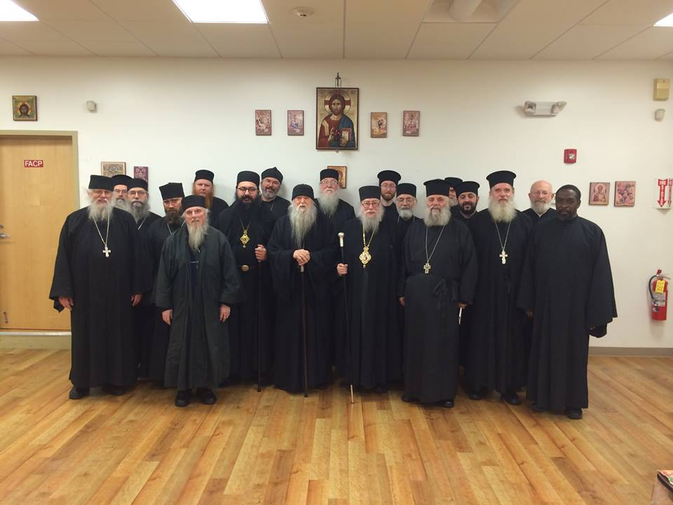 HOCNA Clergy Synaxis 2014