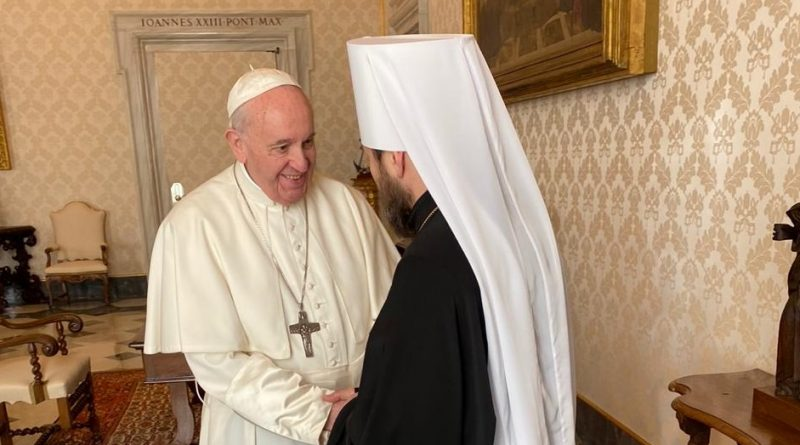 Hilarion (Alfeyev) and Pope Francis: More Ecumenism at Top Levels of MP