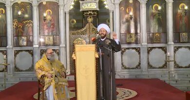 Syria: Weird Ecumenist Message Promoting the History of Joint Muslim-Christian prayer