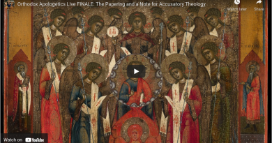 Live Tonight at 8:45 PM EST: Orthodox Apologetics Live: Final Episode
